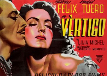Cartel de la película 'Vértigo'.