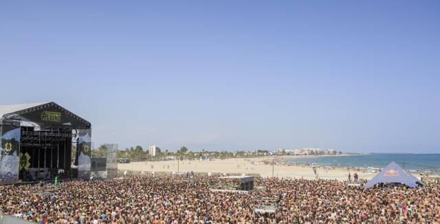 Un concierto en el festival Arenal Sound.