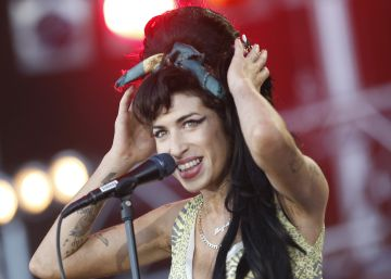 Concierto de Amy Winehouse en el Rock in Rio de Madrid en 2008.