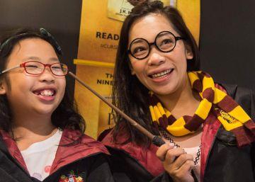 Harry Potter levanta el telón de la magia