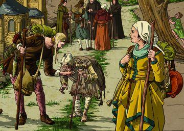 Los peligros de peregrinar a Compostela en la Edad Media