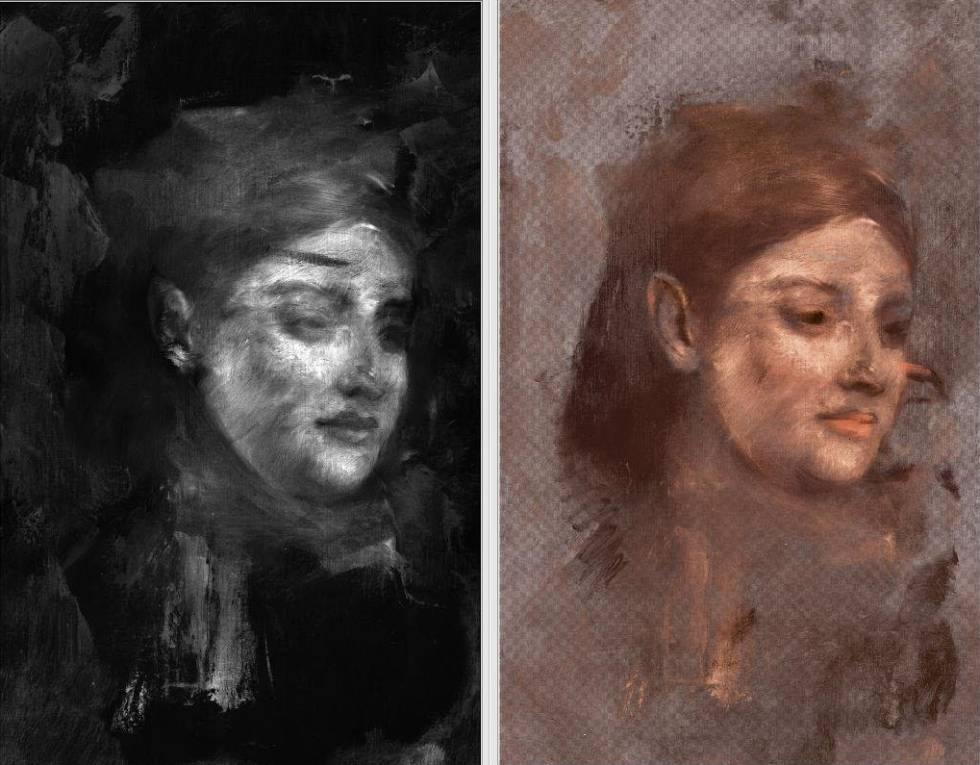 La ciencia desvela la modelo que ocultó Degas tras una mujer anónima