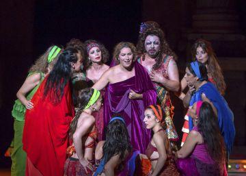 Estrella Morente y Antonio Canales, ovación por su 'Lisístrata' flamenca