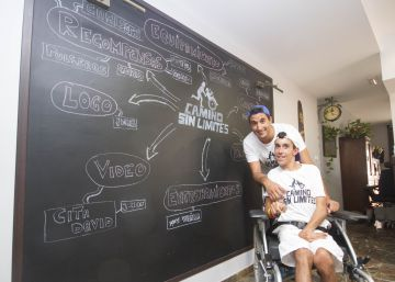 800 kilómetros de senderos en silla de ruedas