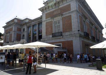 Las colas del Bosco en el Prado no dan tregua