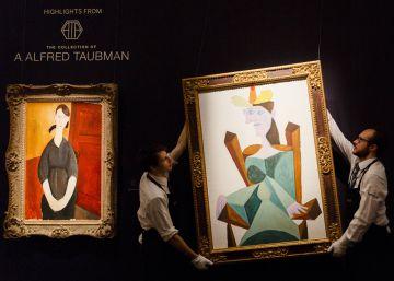 Piezas mediocres y finanzas volátiles arrastran a la baja las ventas de arte