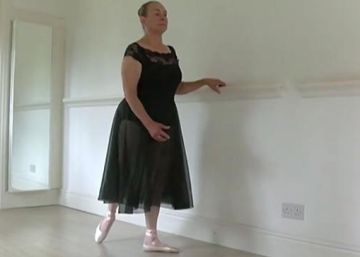 Bailarina da Royal Academy aos 71 anos