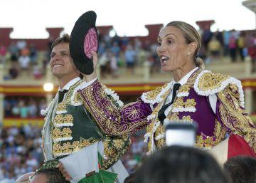 Digna reaparición de Cristina Sánchez en Cuenca por una causa solidaria