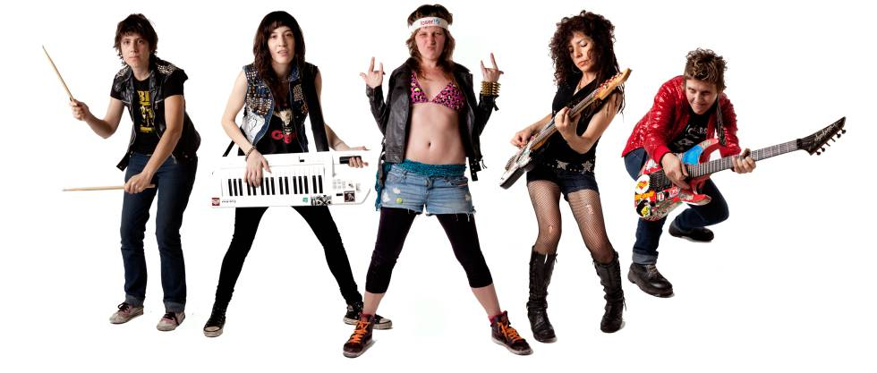 Integrantes da banda Kumbia Queers,
