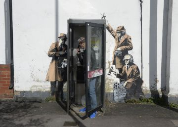 Mural de Banksy desaparece misteriosamente