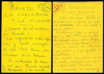 La Biblioteca Nacional compra 1.300 greguerías de Gómez de la Serna