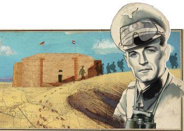 El castillo de la muerte del Afrika Korps
