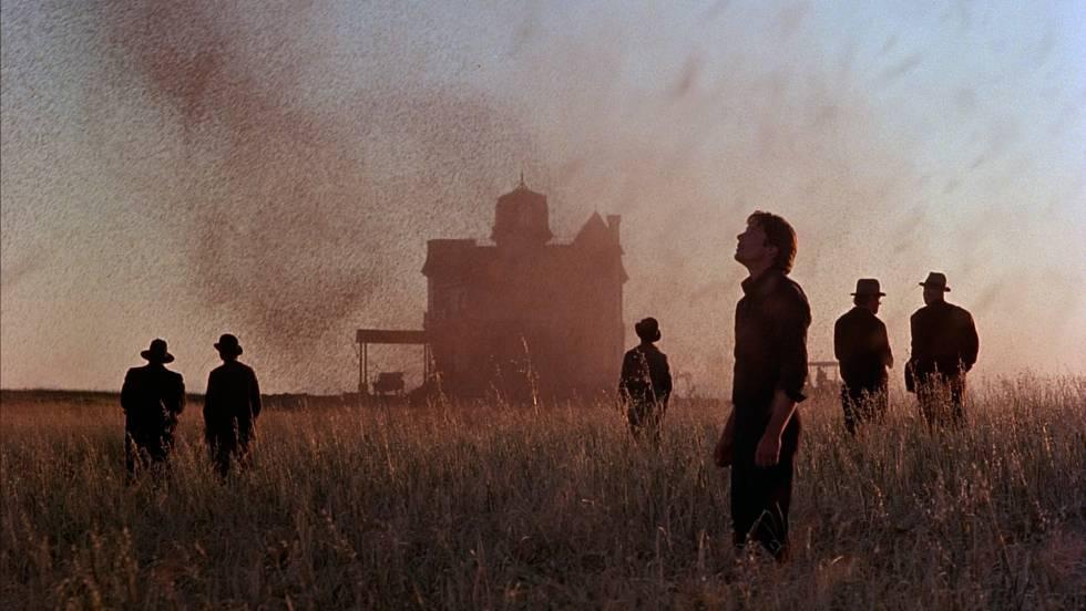 'Días del cielo', un excelente melodrama de Terrence Malick, de inusitada belleza plástica