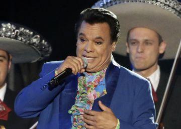 Juan Gabriel, en los Premios Billboard.