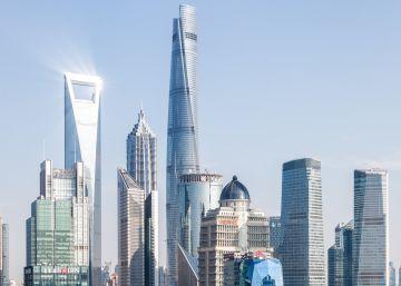 China se alza 632 metros mientras se hunde su suelo