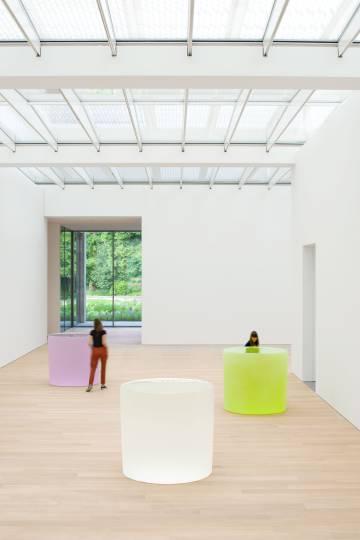 'Untitled', una de las obras de Roni Horn que se muestra en el Museo Voorlinden.