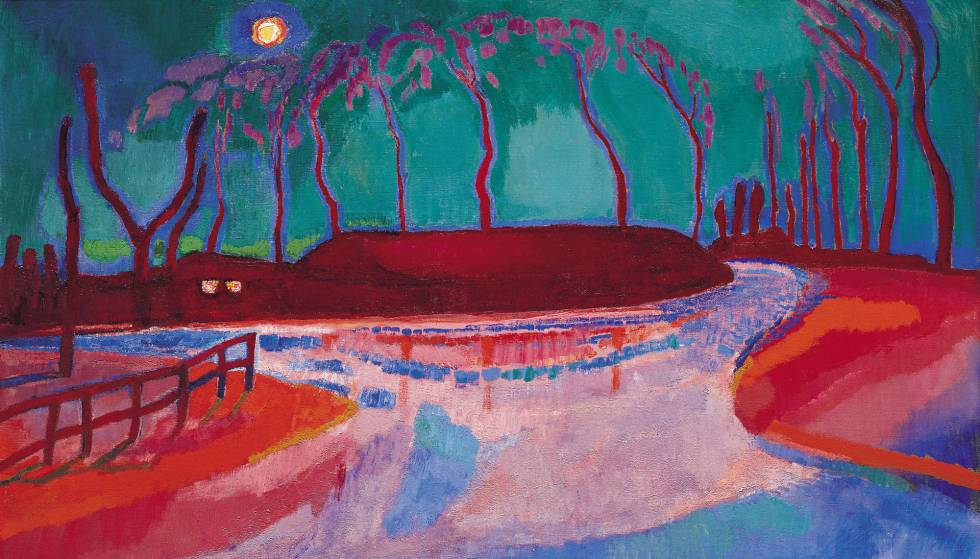 'Maannacht' (1912), obra del artista holandés Jan Sluijters.