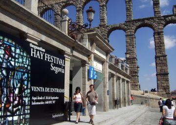 El Hay Festival escribe cultura con mayúscula en Segovia