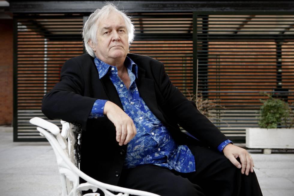 El escritor sueco Hennig Mankell, retratado en Madrid en marzo de 2008.