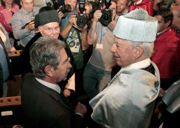 """Vargas Llosa: """"Llevo con espíritu deportivo la prensa chismográfica"""""""