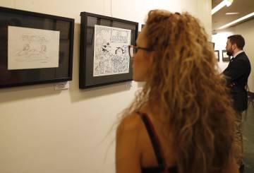 Una zona de la exposición en la Casa de América en Madrid.