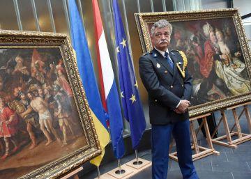 Devueltos a Holanda cinco cuadros del Siglo de Oro robados en 2005