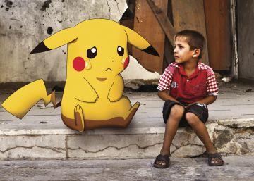 La historia tras las fotos de los Pokémon en Siria