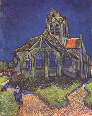La iglesia de Auvers-sur-Oise, retratada por Van Gogh