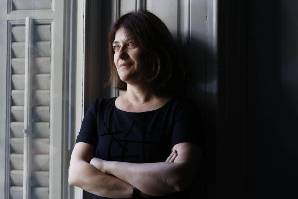 La escritora española Rosa Ribas, en Madrid.