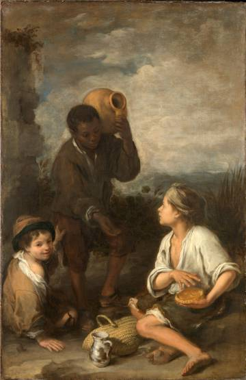 'Tres niños' (1670), de Bartolomé Murillo.