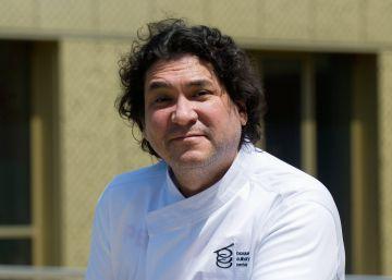 El chef peruano Gastón Acurio, en San Sebastián.