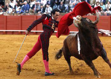 El torero Manuel Jesús, 'El Cid', en la Feria de Abril de 2016.