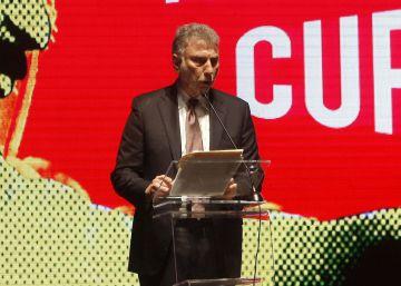 El director del 'Washington Post', Martin Baron, durante la entrega de los premios Gabo 2016.