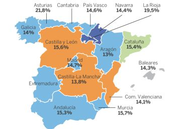 Telecinco domina el mapa de la audiencia