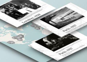 Gráfico: Todos los viajes del 'Guernica'