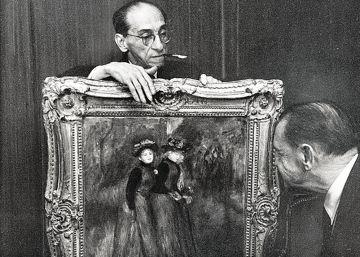 Una galería hacia la historia del arte y el expolio nazi