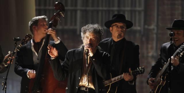 Bob Dylan, en un concierto en Los Ángeles en 2011.