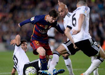 El Valencia recibe al Barcelona en Mestalla