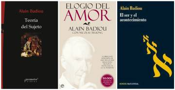 Alain Badiou, fiel a la filosofía