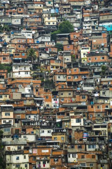 chabolas de la favela Rocinha de Río de Janeiro.