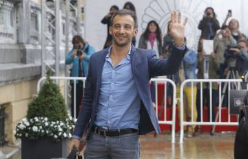 Alejandro Amenabar, en el festival de cine de San Sebastián, en 2015.