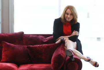 La directora Gracia Querejeta, en Madrid, en abril de 2015.