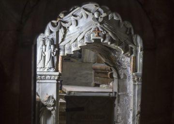 El sepulcro de Jesucristo, abierto por primera vez en siglos