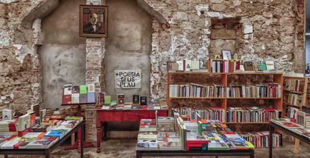 Librería Calders, en el Pasaje Calders de Barcelona.