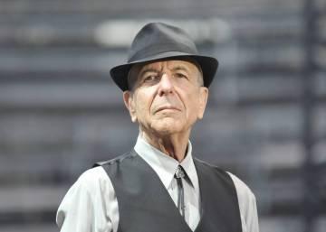 La poesía de Leonard Cohen en imágenes