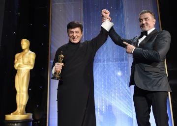 Jackie Chan y Fredrerick Wiseman recogen sus Oscar honoríficos
