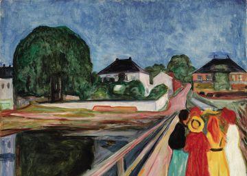 'Las chicas en el puente' rompe el récord de Munch en una subasta
