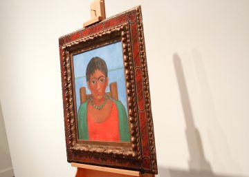 Un cuadro de Frida Kahlo nunca expuesto en público sale a subasta