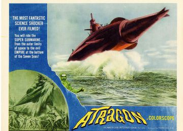 'Atoragon', el submarino volador