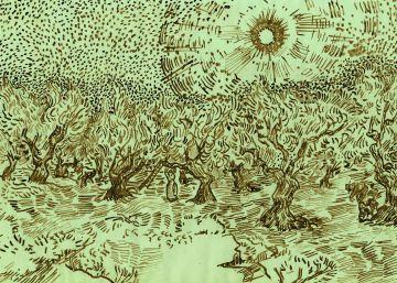 ¿Pintó Van Gogh este paisaje?